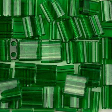 Бисер Tila Прозрачный зеленый