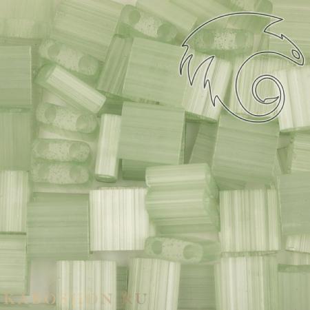 Бисер Tila Сатин (шелк) светло-зеленый