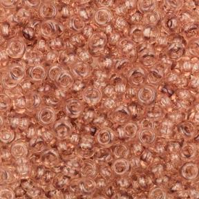 Бисер Toho Demi Round HYBRID Прозрачный теплый светло-коричневый