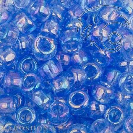 Бисер Toho 6-0 Радужный прозрачный светлый сапфир TR-06-168