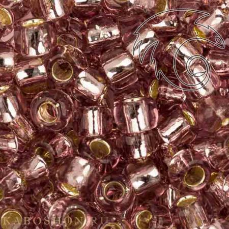 Бисер Toho 6-0 Внутреннее серебрение светлый аметист TR-06-26