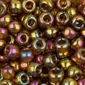 Бисер Toho 6-0 Золотое сияние темный топаз