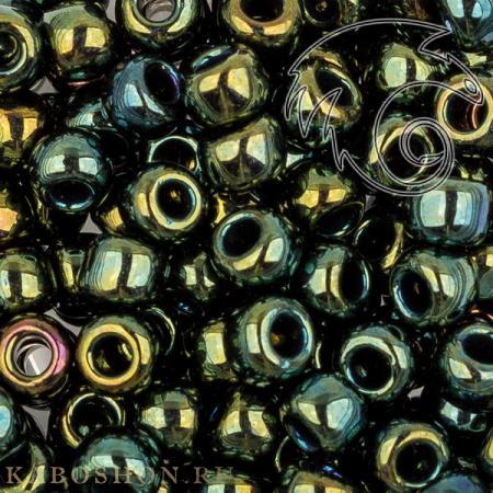 Бисер Toho Металлизированный зелено-коричневый ирис