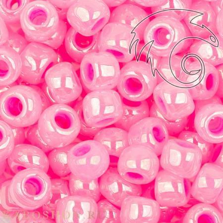 Бисер Toho Цейлон ярко-розовый