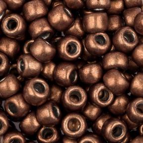 Бисер Toho HYBRID 6-0 Металлизированный пыльный кедр