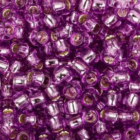 Бисер Toho 8-0 Внутреннее серебрение светлый виноград
