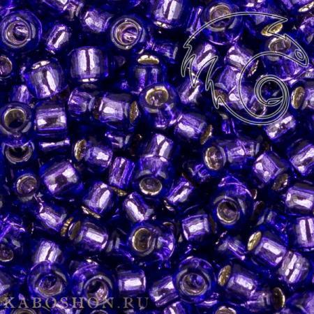 Бисер Toho Внутреннее серебрение пурпурный