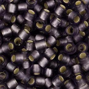 Бисер Toho 8-0 Матовый внутреннее серебрение светлый танзанит