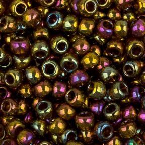 Бисер Toho 8-0 Золотое сияние темный топаз