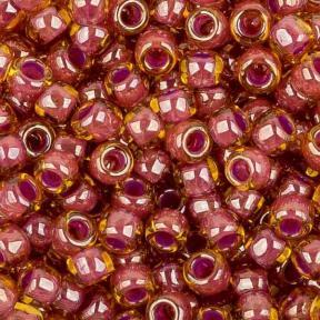 Бисер Toho 8-0 Окрашенный изнутри светлый топаз-розовый