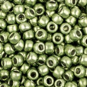 Бисер Toho HYBRID 8-0 Металлизированный весенняя зелень