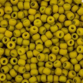 Бисер Toho 11-0 Матовый непрозрачный золотое сияние гороховый суп