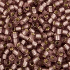 Бисер Toho 11-0 Матовый внутреннее серебрение светлый аметист