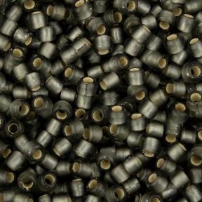 Бисер Toho 11-0 Матовый внутреннее серебрение серый