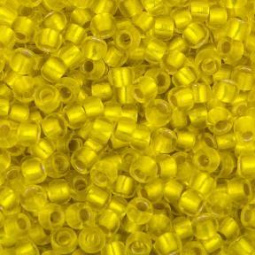 Бисер Toho 11-0 Матовый внутреннее серебрение лимон