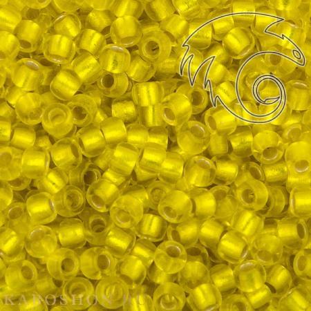 Бисер Toho Матовый внутреннее серебрение лимон