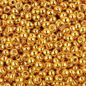 Бисер Toho 11-0 Золотое покрытие 24К