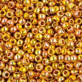 Бисер Toho 11-0 Гальванизированный золото Мидаса