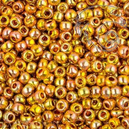 Бисер Toho Гальванизированный золото Мидаса (5 грамм)