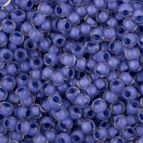 Бисер Toho 11-0 Окрашенный изнутри хрусталь-неоновый пурпурный