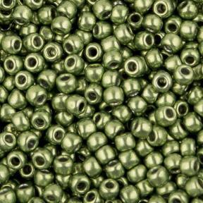 Бисер Toho HYBRID Металлизированный весенняя зелень