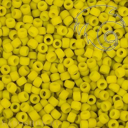 Бисер Toho Полуматовый лимонное сорго