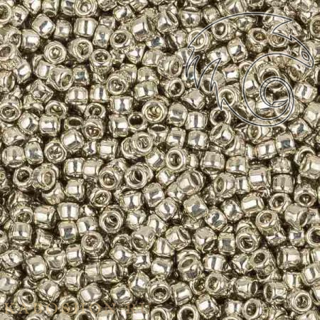 Бисер Toho Металлизированный серебром