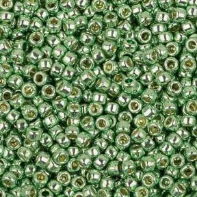 Бисер Toho PF 15-0 Гальванизированный зеленая мята