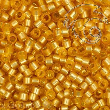 Бисер Toho Treasures Внутреннее серебрение молочный светлый топаз