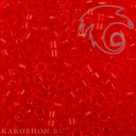 Бисер Toho Treasures Прозрачный светлый сиамский рубин