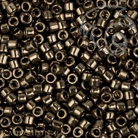 Бисер Toho Treasures Гальванизированный серый TT-602