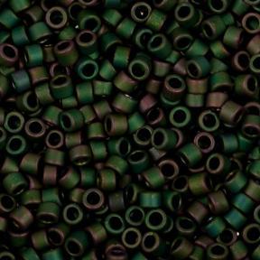 Бисер Toho Treasures Матовый зеленый ирис
