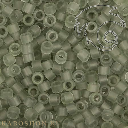Бисер Toho Treasures Матовый прозрачный серый