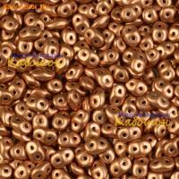 Бусины SuperDuo 2,5х5 мм Vintage Copper
