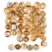 Glass Pressed Beads 2 мм (Чехия)