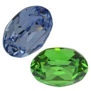 4120 Oval fancy stones