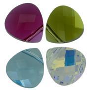 6012 Flat Briolette pendant