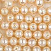 Стеклянный жемчуг 4 мм (Чехия)