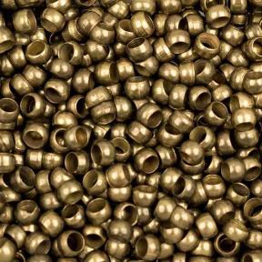 Зажимы (кримпы) 2.5 мм старинная бронза