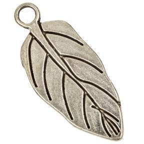 Лист 30 мм старинное серебро