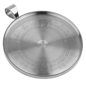 Оправа круглая для кабошона 30 мм