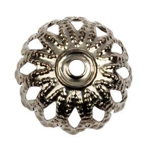 Колпачок 12 мм черный никель (10 шт)