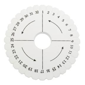 Кумихимо диск