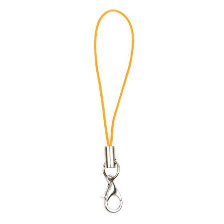 Шнурок для мобильного телефона оранжевый 1 шт