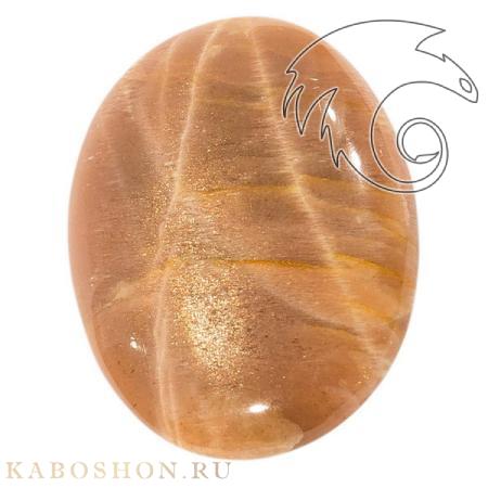 Кабошон из солнечного камня