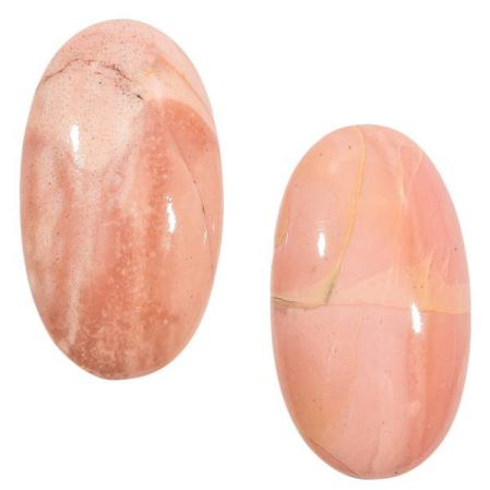 Опал розовый (Пара)