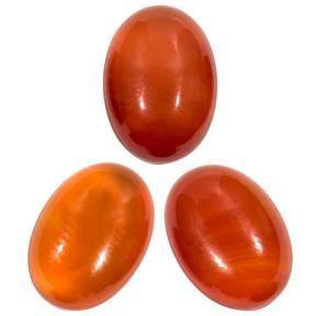 Сердолик красный овальный 14х10 мм