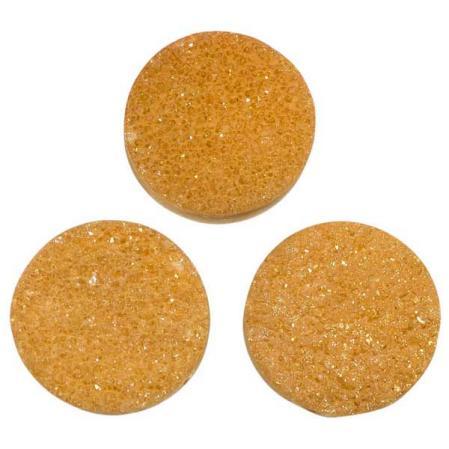 Кварц Titanium круглый 20 мм (щетка) персик