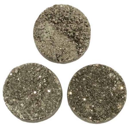 Кварц Titanium круглый 20 мм (щетка) графит