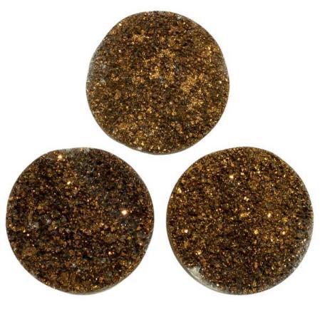 Кварц Titanium круглый 25 мм (щетка) бронза